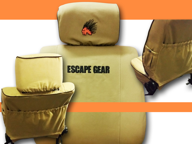 Escape gear covers by Tauro