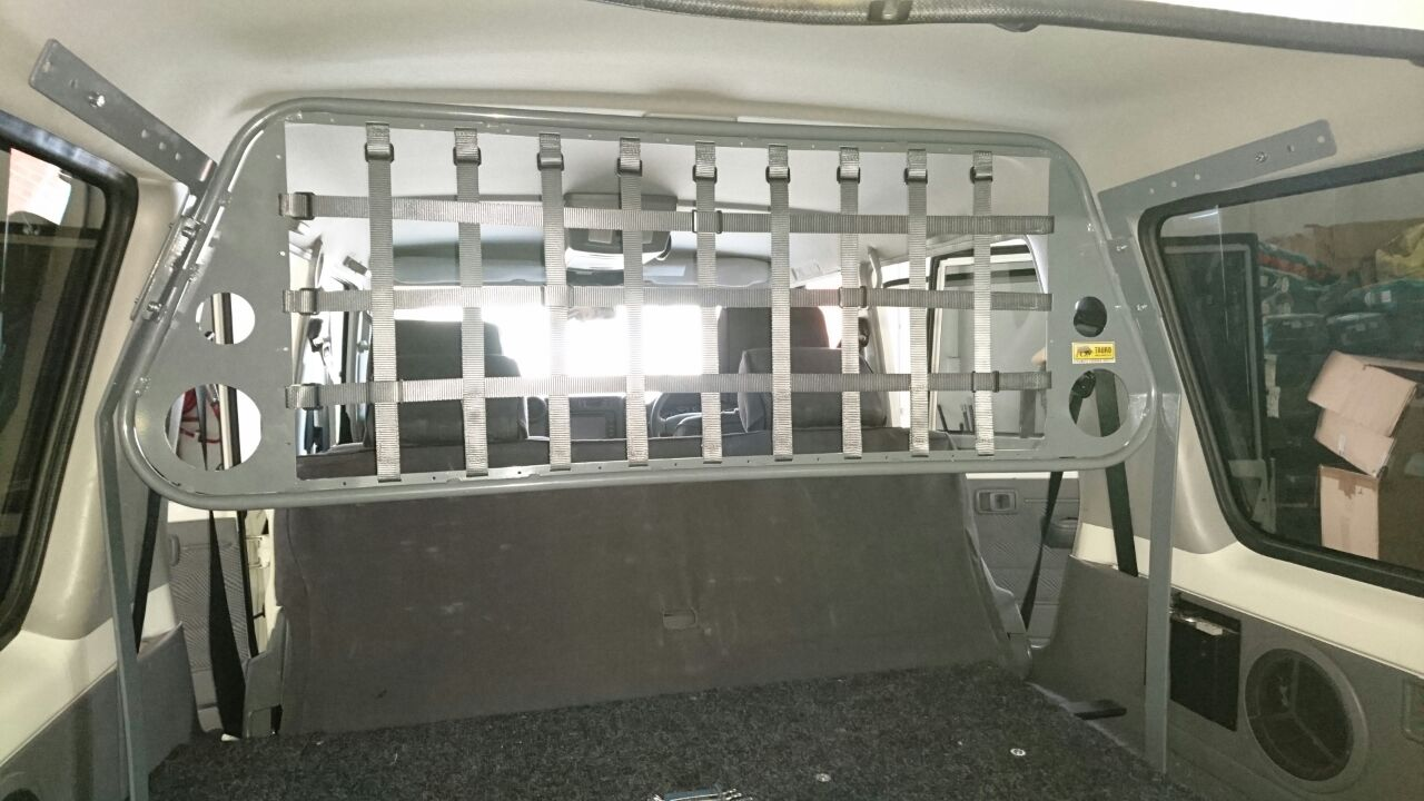 Cargo Barrier Amp Internal Roof Nets Tauro