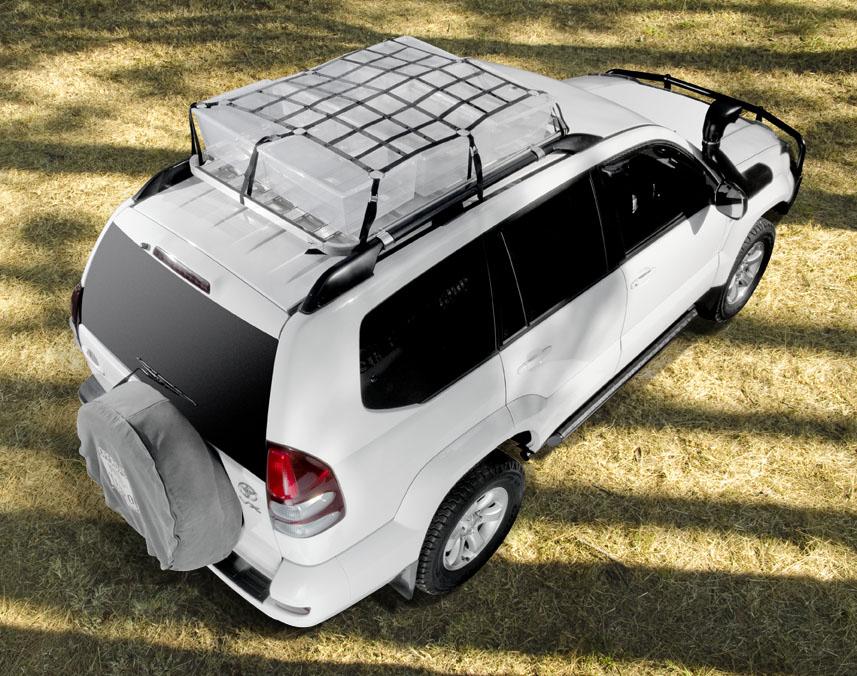 Tauro roof rack cargo net