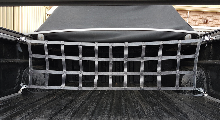 Bakkie Load Bay Cargo Barrier Net Kit